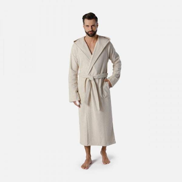 möve Wellbeing hooded bathrobe S. XXL
