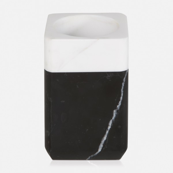 möve Black & White toothbrush holder