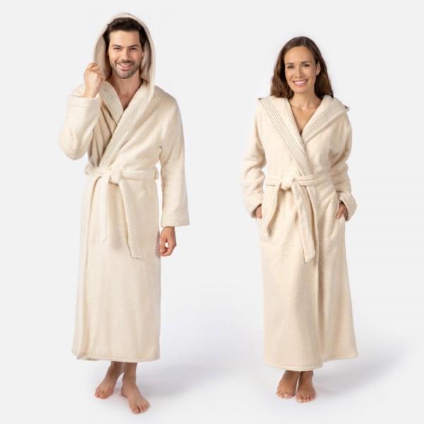 möve Wellness hooded bathrobe S.M