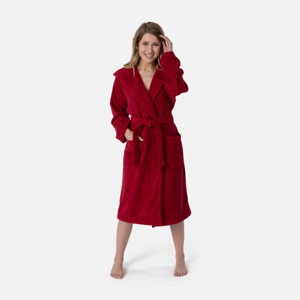 möve Superwuschel hooded bathrobe S.S