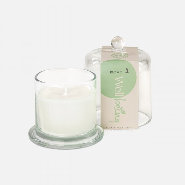 möve Wellbeing scented candle, botanical extracts