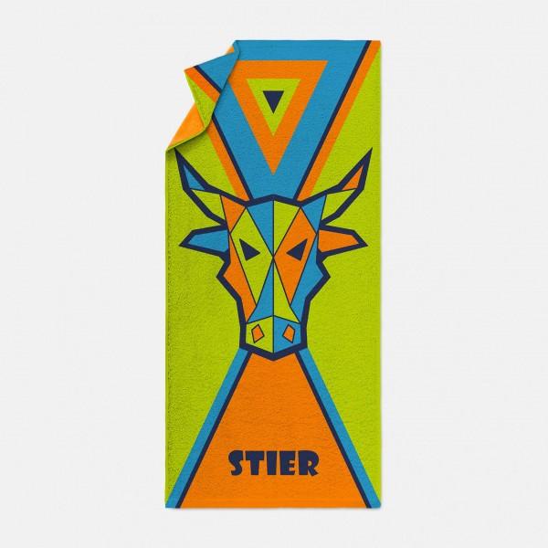 möve Sternzeichen Stier Strandtuch 170x80cm