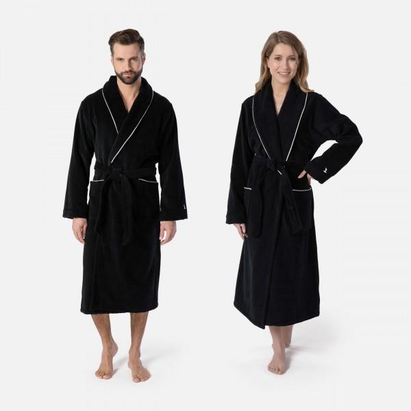 möve Homewear shawl collar robe S.M