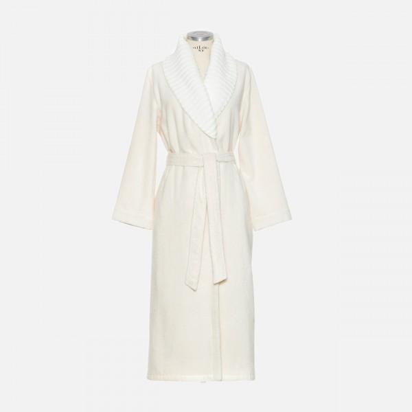 möve Cashmere & Cotton shawl collar robe S.34