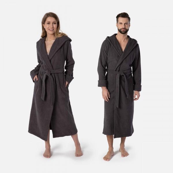 möve Wellbeing hooded bathrobe S.S