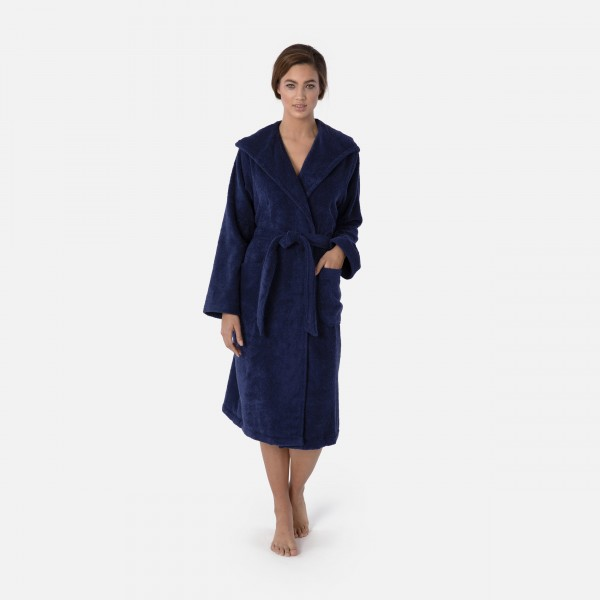 möve Superwuschel hooded bathrobe S. M