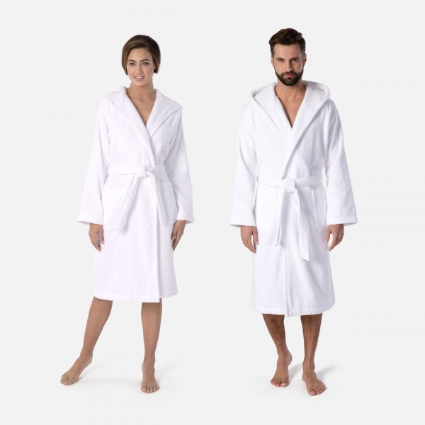 möve Superwuschel hooded bathrobe S.M