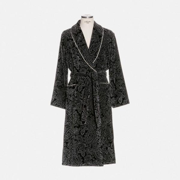möve Paisley shawl collar robe S.XL