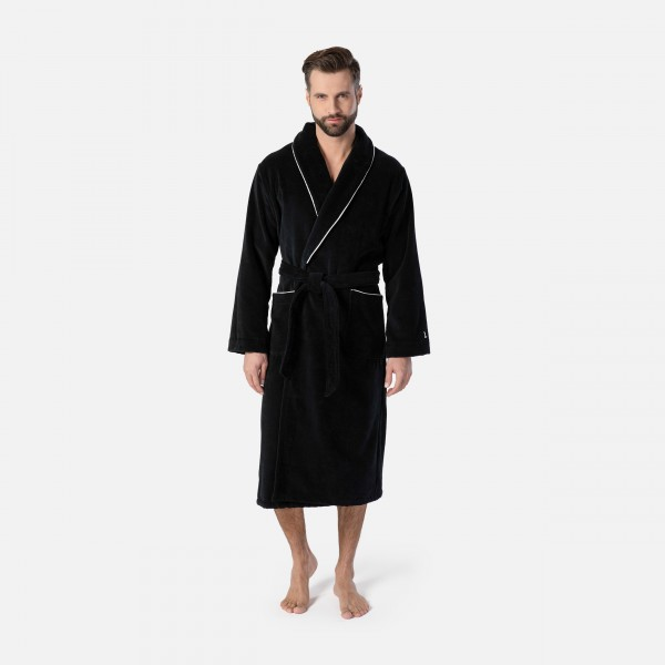 möve Homewear shawl collar robe S. M