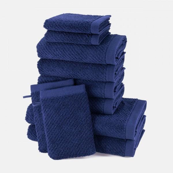 möve Diagonale towel set