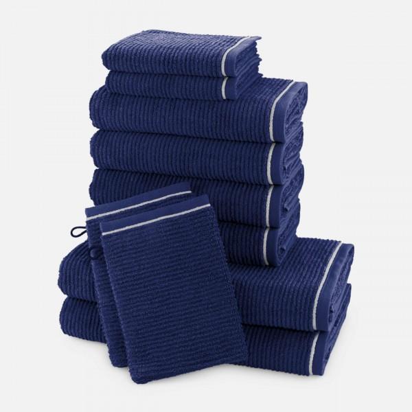 möve Ripple Handtuchset 10-TLG