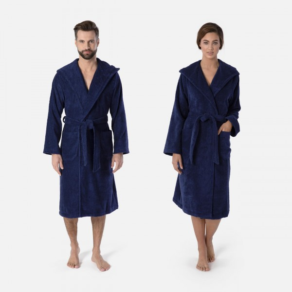möve Superwuschel hooded bathrobe S. XXL