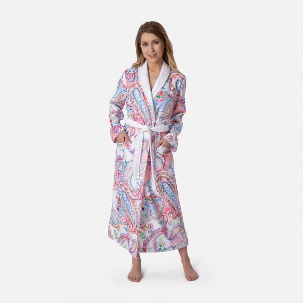 möve St. Tropez shawl collar robe S.38