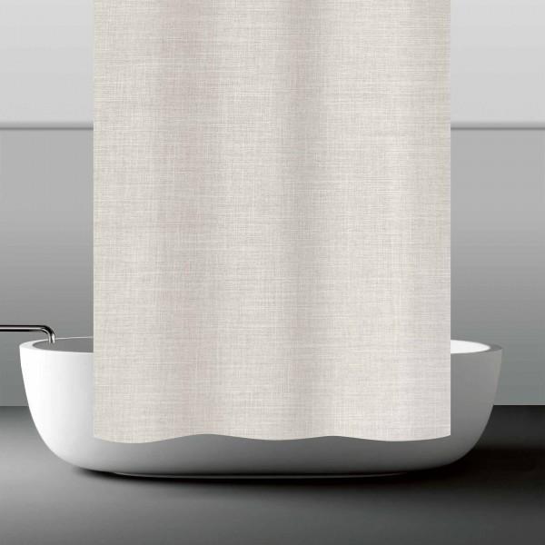 möve Linum shower curtain